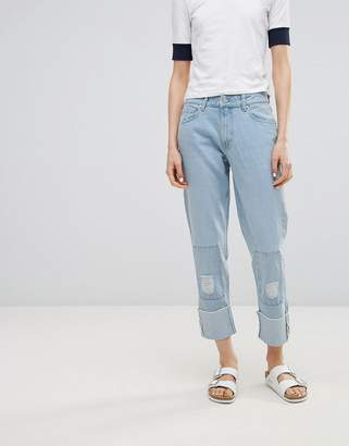 WÅVEN Akins True Boyfriend Patch Jeans