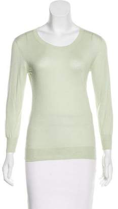 Agnona Cashmere and Silk-Blend Sweater w/ Tags