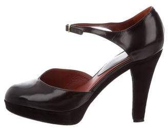 Marc Jacobs Ankle Strap Platform Pumps