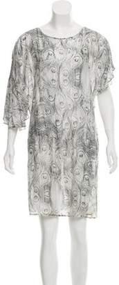 Balmain Printed Mini Dress