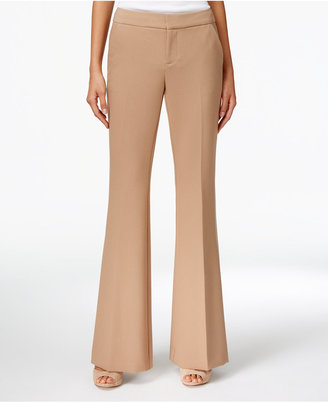 INC International Concepts Flare-Leg Pants, Only at Macy's $79.50 thestylecure.com