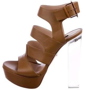 Ruthie Davis Leather Platform Sandals w/ Tags