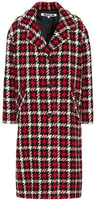 McQ Houndstooth wool-blend coat