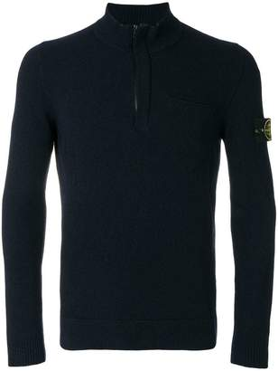 Stone Island half zip knitted jumper