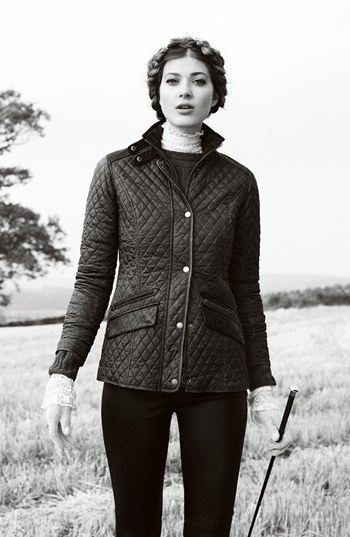 Barbour Gold Label 'Dunberry' Quilted Jacket