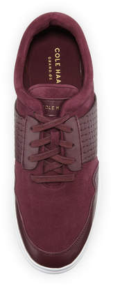 Cole Haan Misha Grand Sport Oxford Sneakers, Dark Red