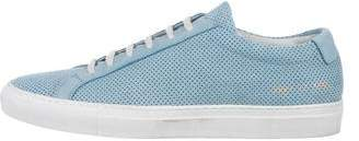 Common Projects Woman by Suede Low-Top Sneakers