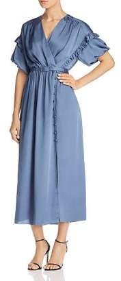 Kate Spade Satin Midi Dress