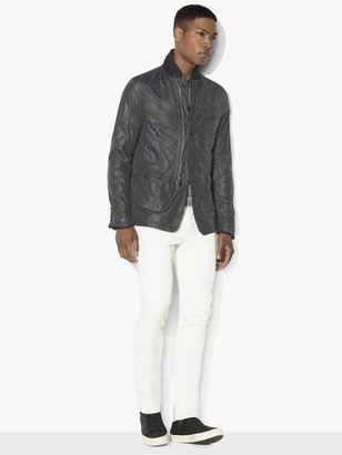 Nylon Grid-Stitched Jacket $298 thestylecure.com