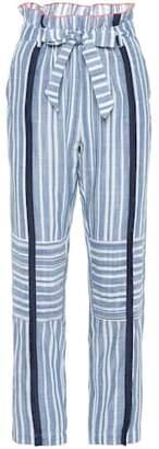 Lemlem Kosi striped cotton trousers