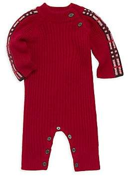 Burberry Baby Girl's Cathinao Cashmere Knit Coverall