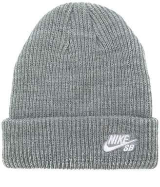 Nike logo knit beanie