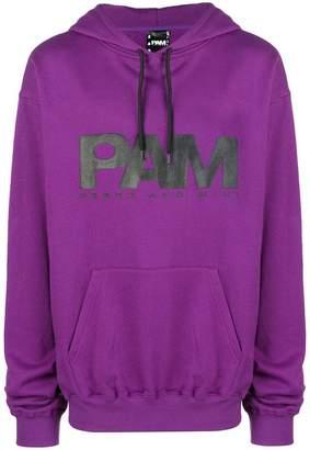 Perks And Mini Pam logo printed hoodie