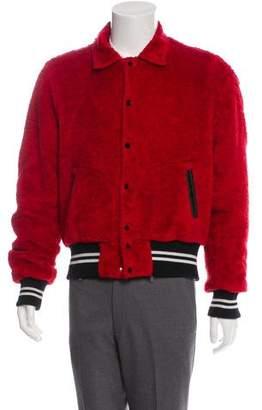 Amiri Silk-Lined Varsity Jacket