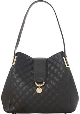 Dune Diamh Large Quilted Hobo Bag