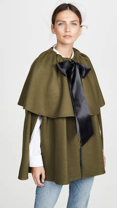 ADAM by Adam Lippes Tiered Cape