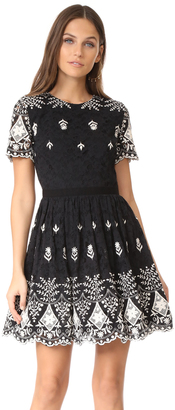 alice + olivia Nigel Party Dress $485 thestylecure.com