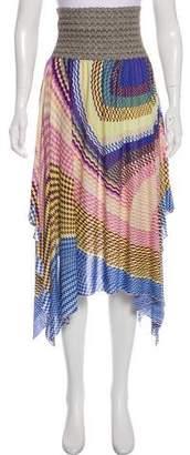 Missoni Strapless Knee-Length Dress
