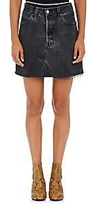 RE/DONE Women's High Rise Levi's® Miniskirt - Black