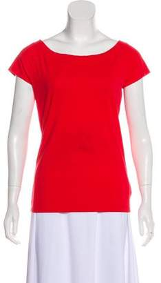 Lauren Ralph Lauren Bateau Neck Short Sleeve T-Shirt