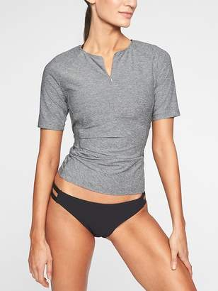 Athleta Pacifica Wrap Front Tee