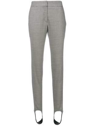 Gianluca Capannolo houndstooth stirrup trousers
