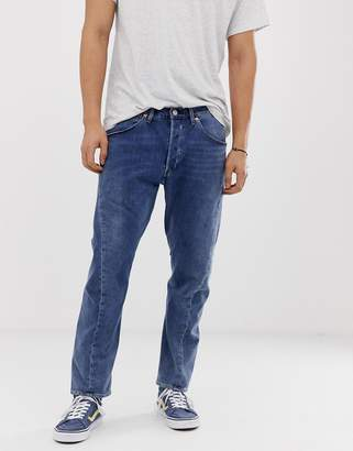8bd5df48b4 Levi s Levis Engineered twist hem regular tapered jeans in mid wash