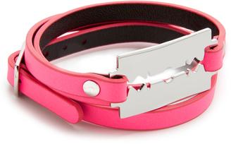 McQ - Alexander McQueen Razor Triple Wrap Bracelet $65 thestylecure.com