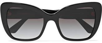 Dolce & Gabbana Cat-eye Acetate Sunglasses - Black