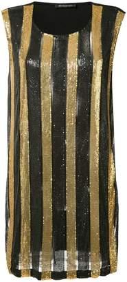 Balmain (バルマン) - Balmain ストライプ柄 ドレス