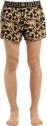 Versace Underwear Baroque Nylon Swim Shorts