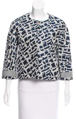 Etienne Aigner Tailored Jacquard Jacket