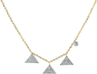 Sabrina Designs 14K 0.22 Ct. Tw. Diamond Necklace