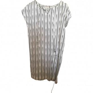 soeur Ecru Cotton Dress for Women