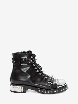 Alexander McQueen Hobnail Ankle Boot