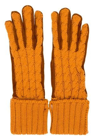 Etro Etro Bicolor Knit Gloves w/ Tags