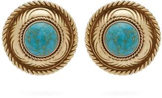 Etro Stone-embellished stud earrings