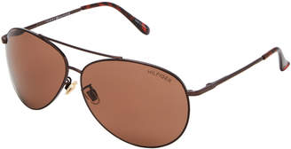 Tommy Hilfiger Bronze-Tone Jake Aviator Sunglasses