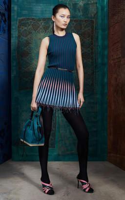 Altuzarra Jobson Ribbed Knit Mini Dress