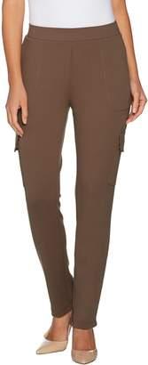 Lisa Rinna Collection Regular California Crepe Pants