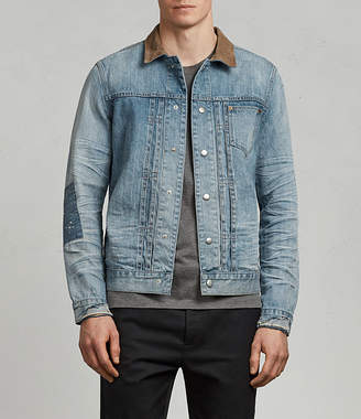 AllSaints Ibanez Denim Jacket