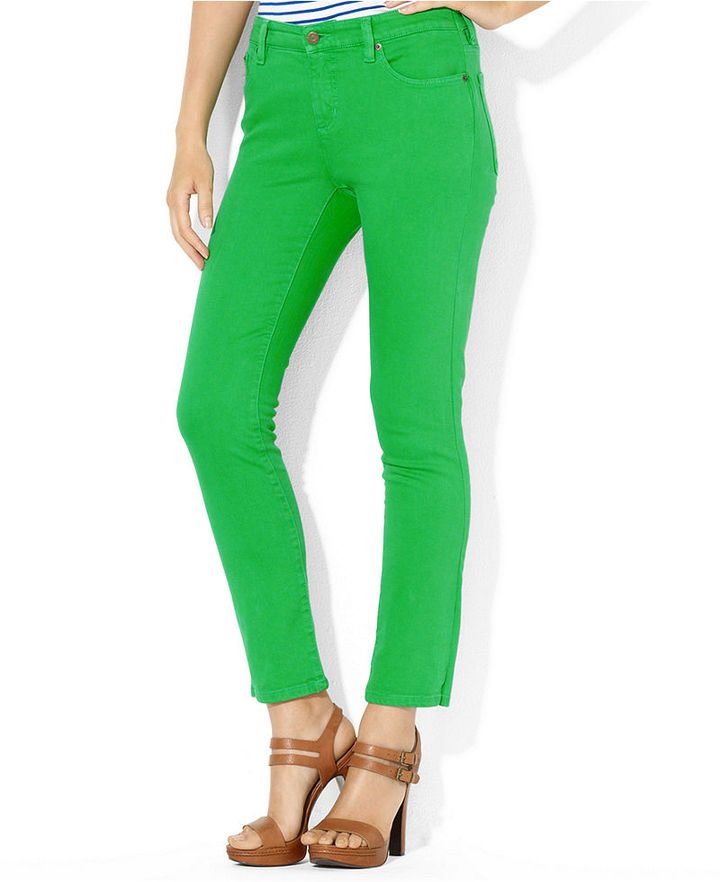 Lauren Ralph Lauren Jeans, Modern Straight-leg Ankle Colored