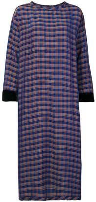 Forte Forte plaid T-shirt dress
