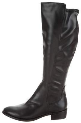 Donald J Pliner Leather Knee-Length Boots w/ Tags