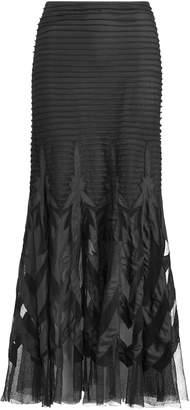 Ralph Lauren Micah Tulle Midi Skirt