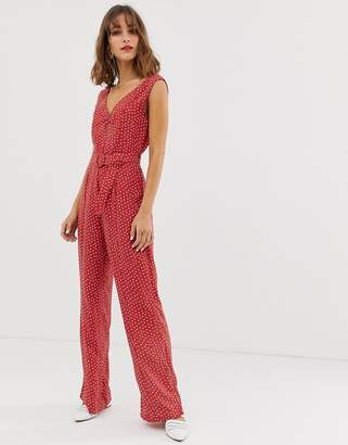 8b393466b182 Red Polka Dot Trousers - ShopStyle UK