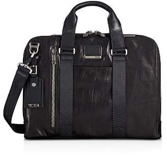 Tumi Alpha Bravo Aviano Slim Leather Briefcase