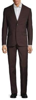 Ben Sherman Solid Wool Blend Suit