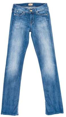 Mother The Slit Rascal Low-Rise Jeans