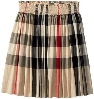 Burberry Hala Gathered Skirt Girl's Skirt